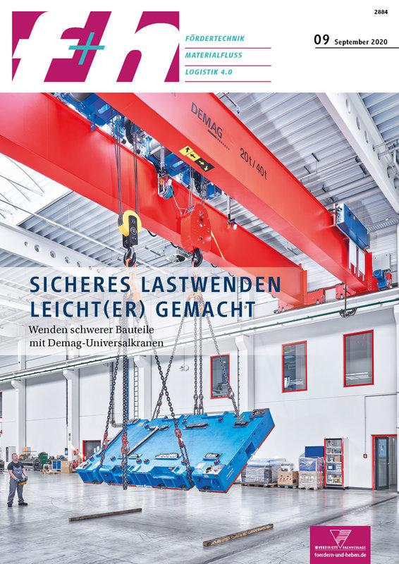 f+h Fördertechnik / Materialfluss / Logistik 4.0 - 9/2020