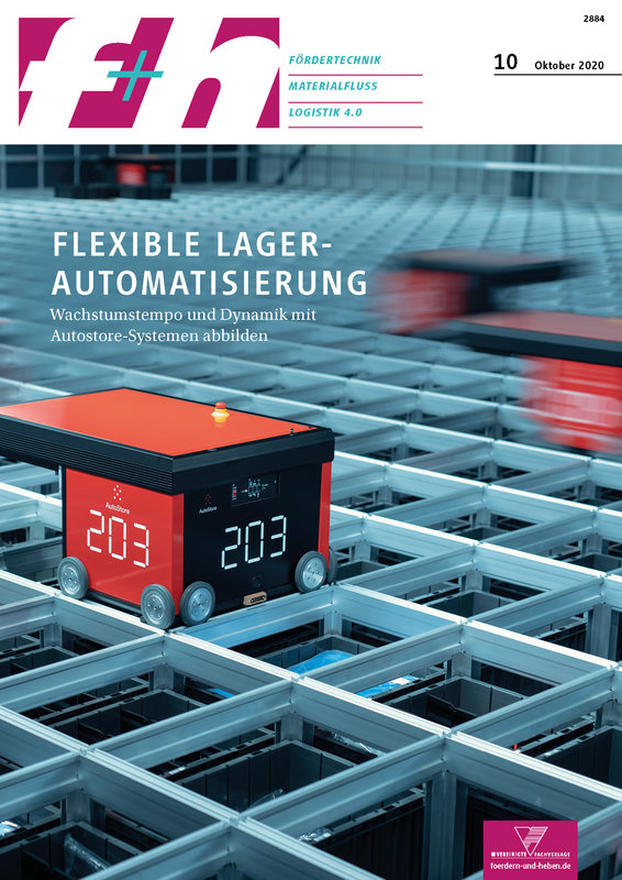 f+h Fördertechnik / Materialfluss / Logistik 4.0 - 10/2020